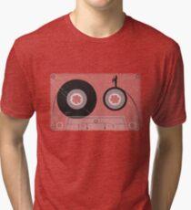Cassette Series Nr. 2 - Saxophone man Tri-blend T-Shirt