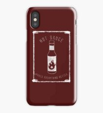 Hot Sauce is the True Sauce iPhone Case