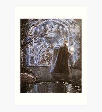 Doors to Moria Art Print