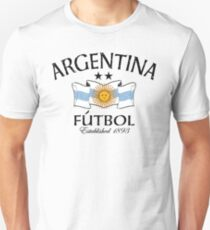 Argentina Fútbol Established 1893 Unisex T-Shirt