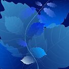 Blue Leaves by marybedy