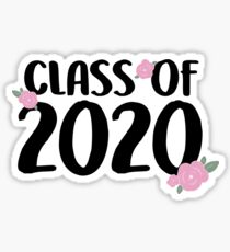 Class of 2020 - FLORAL Sticker