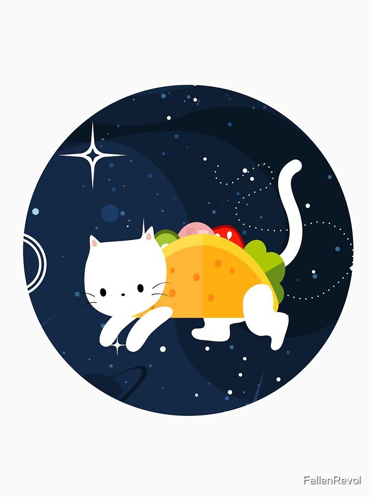Cat In Taco Real Cute Animal In Work Of Art by FallenRevol