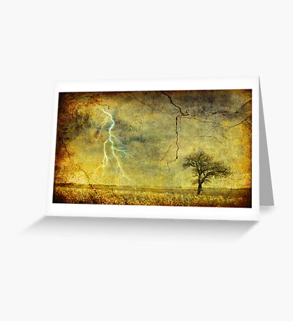 A stormy Spring Greeting Card
