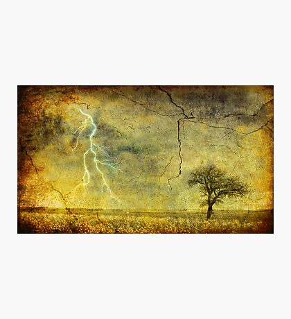A stormy Spring Photographic Print