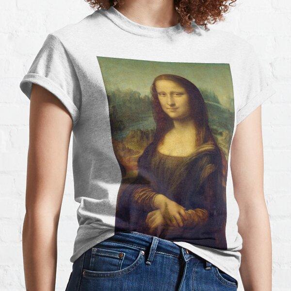 The Mona Lisa is a half-length portrait painting by the Italian Renaissance artist Leonardo da Vinci Classic T-Shirt