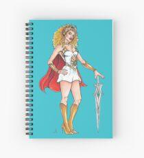 Kylie Minogue as She-Ra Spiral Notebook