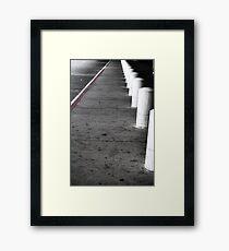 Sidewalk Framed Print
