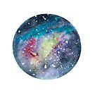 Kreisförmige Galaxie von Kendra Kantor