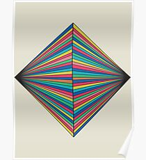 Abstract Geometric Pattern Poster