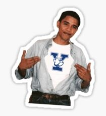 Barack Obama Yale University Sticker