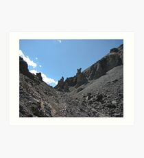 North Side of Coreys Pass with Monoliths Art Print