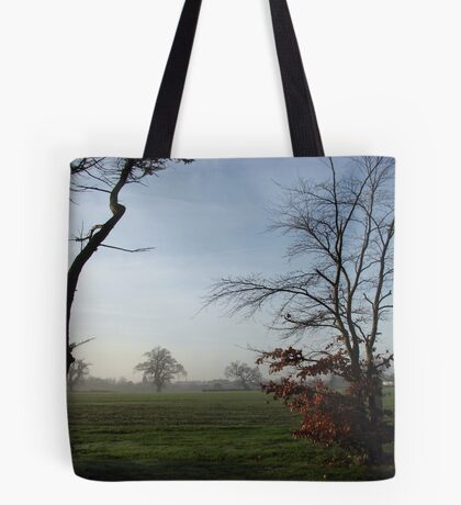 One Misty Morning in Essex Tote Bag