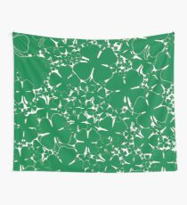 A Sea of Four Leaf Clovers Wall Tapestry