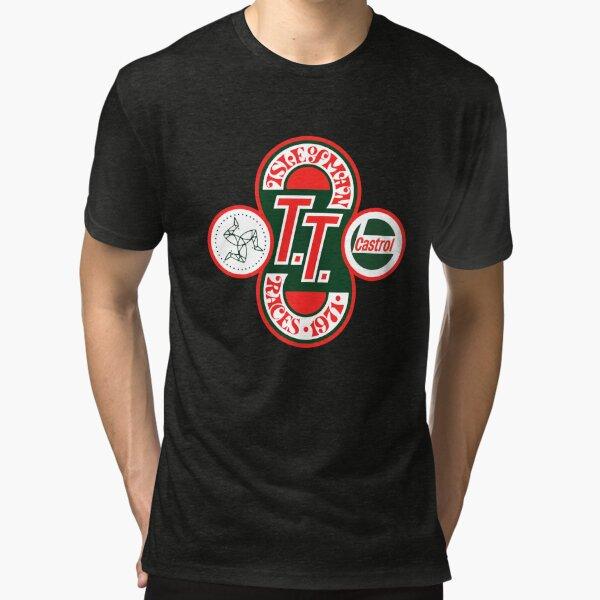 Isle Of Man TT Courses 1971 T-shirt chiné