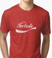 Enjoy Fortnite (distressed) Tri-blend T-Shirt