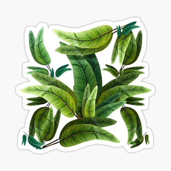 Retro Tropical Tiki Fantasy 02 Sticker