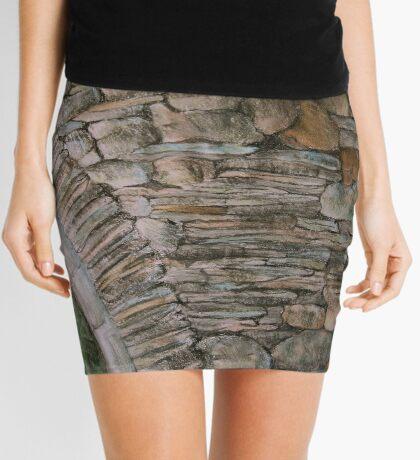 Old Ruin Mini Skirt