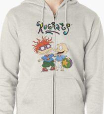 Sudadera con capucha y cremallera Rugrats