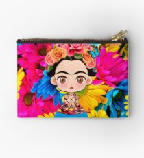 Frida Kahlo Flores Studio Pouch
