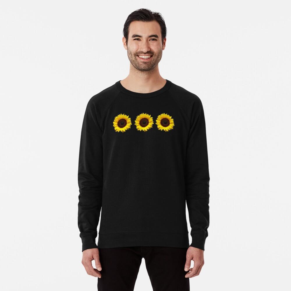Sunflowers Lightweight Sweatshirt