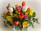 Spring Flowers by Sandy Keeton