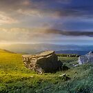 time change over the panorama of Runa mountain by mike-pellinni