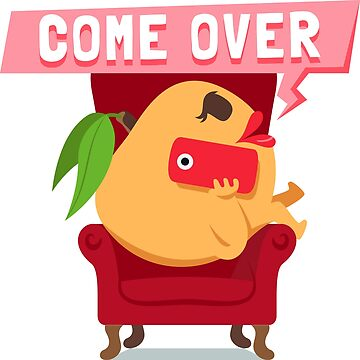 Come Over Peach Emoji by joypixels