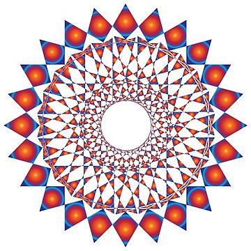 Colorful Mandala by foggynotion