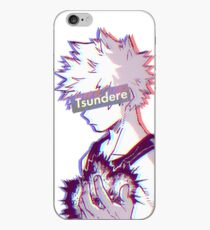 Tsundere Bakugo iPhone Case
