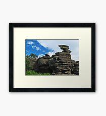 Brimham Rocks Framed Print
