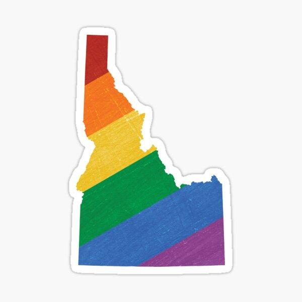 Idaho Pride Sticker