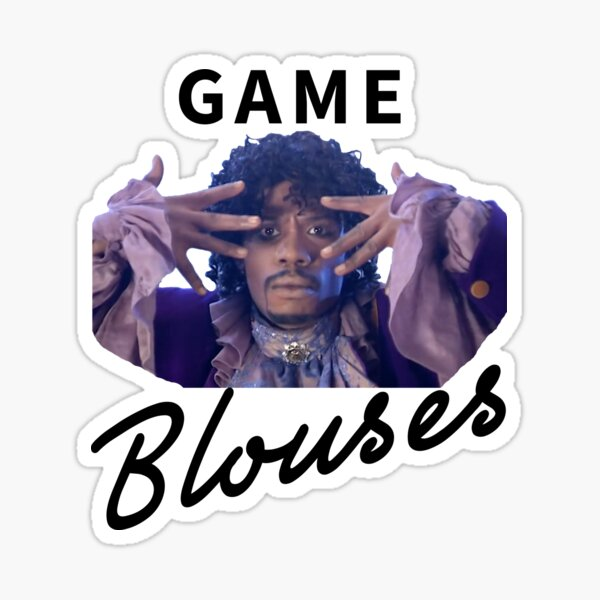 Game, Blouses Sticker