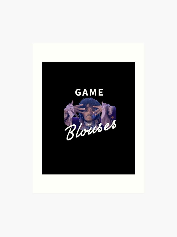 Game Blouses Art Print