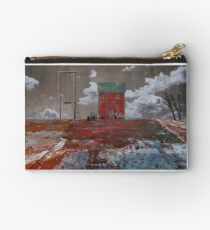 swing. red house. flat land Studio Pouch