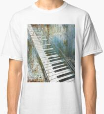 Blue And Lonesome Piano Concert Symphony Music Musical Musician Music Teacher Student Gift Idea Apparel and Accessories Gifts Classic T-Shirt
