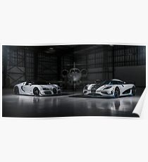 Agera RS1 and Vitesse Poster