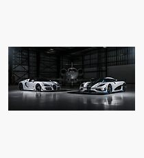 Agera RS1 and Vitesse Photographic Print
