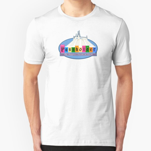 Annual Passholder Happiest Place On Earth Slim Fit T-Shirt