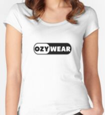 Ozy Wear Women's Fitted Scoop T-Shirt