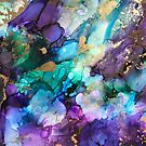 Golden Majesty by inspiredflowart