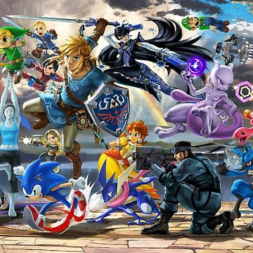 Super Smash Bros. Ultimate Banner - Part 1 by Toshiyena