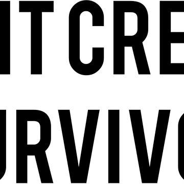 Shit Creek Survivor Funny Slogan by SloganT-Shirt