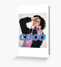 Cuco Greeting Card