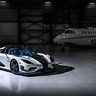 Agera RS1 with Private Jet by GrubbsPhoto