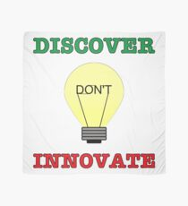 Discover don't Innovate. Scarf