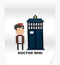 Dr Who Mini-figure  Poster