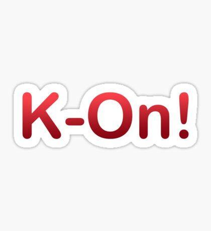 K-On! Sticker