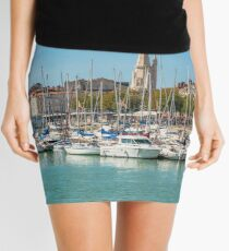 Yachts in the old port of La Rochelle  Mini Skirt