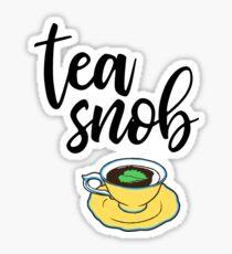 Tee-Snob Sticker